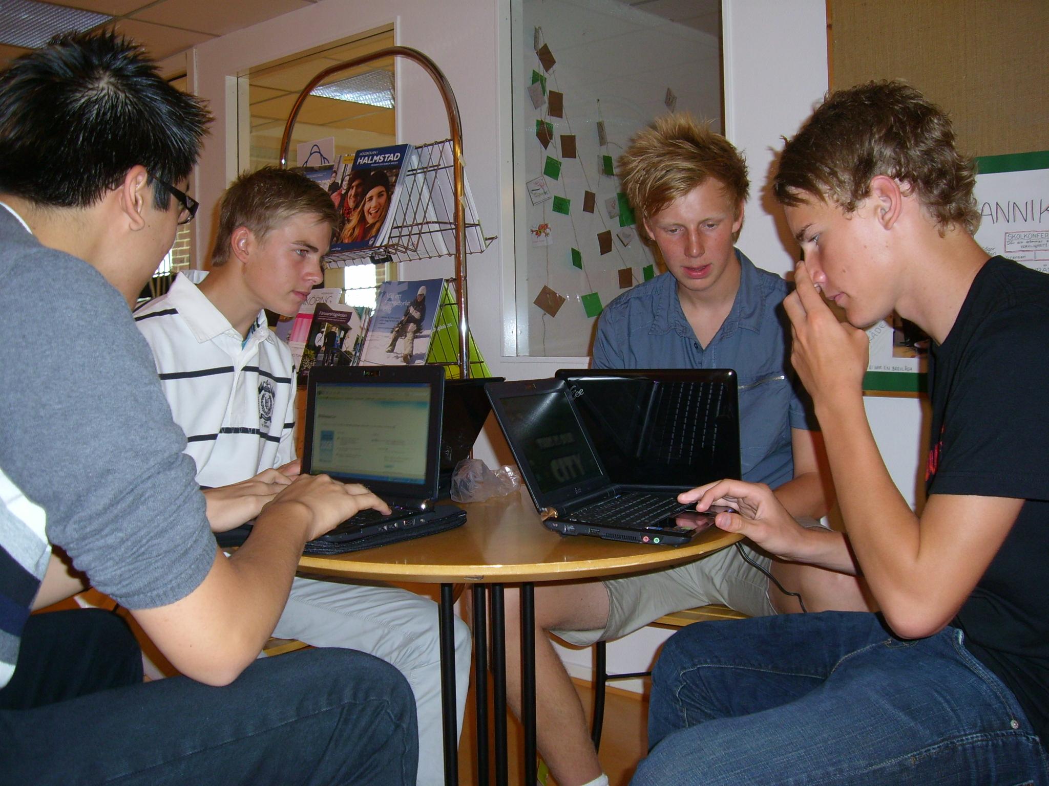 elever-datorer